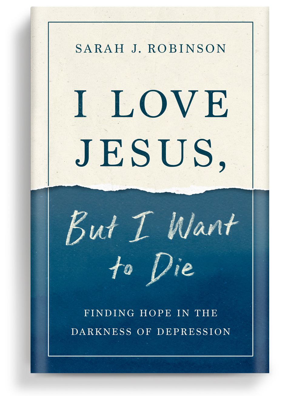 Cover Image of book I Love Jesus, But I Want to Die